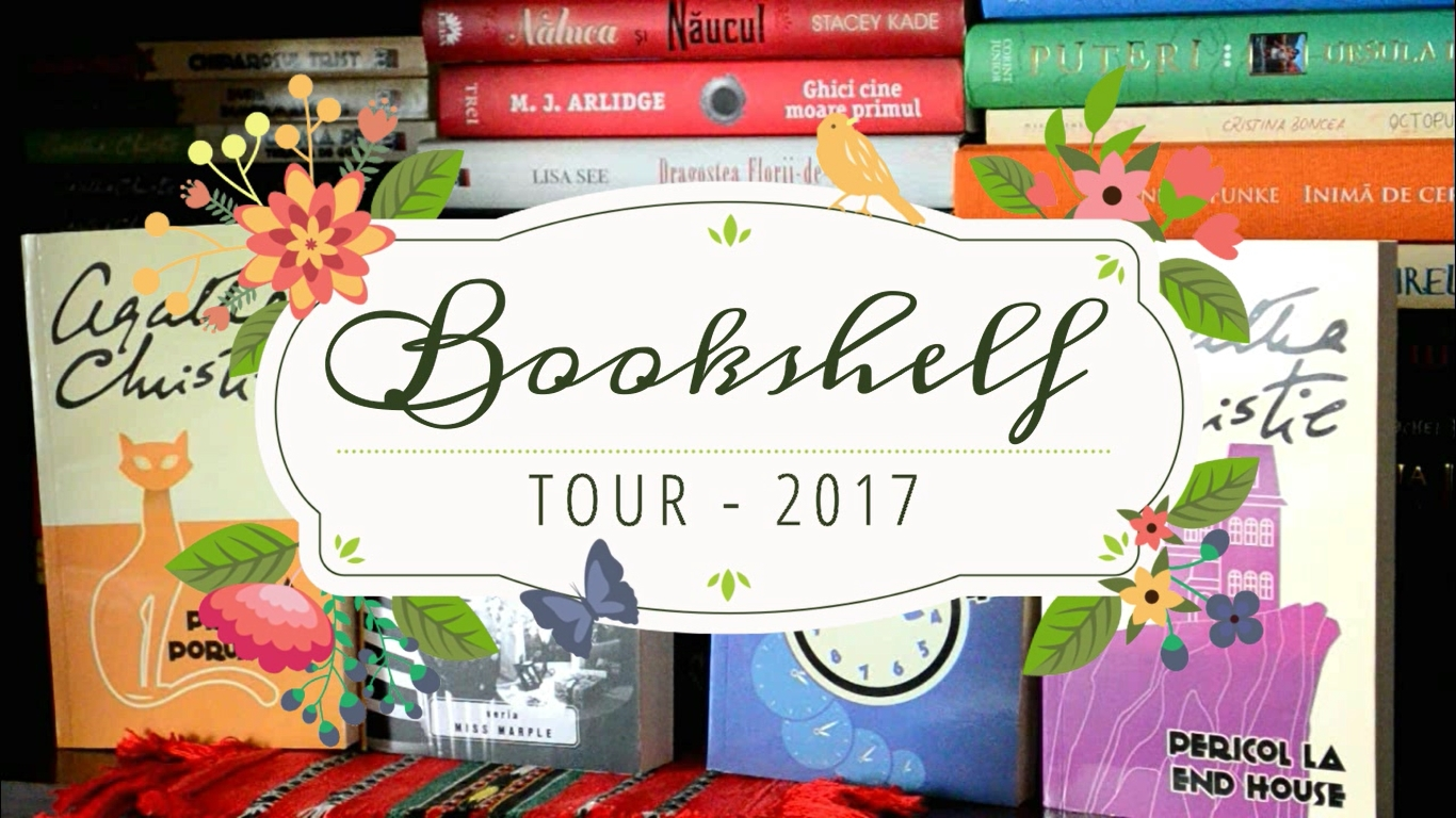 bookshelf tour turul bibliotecii 2017