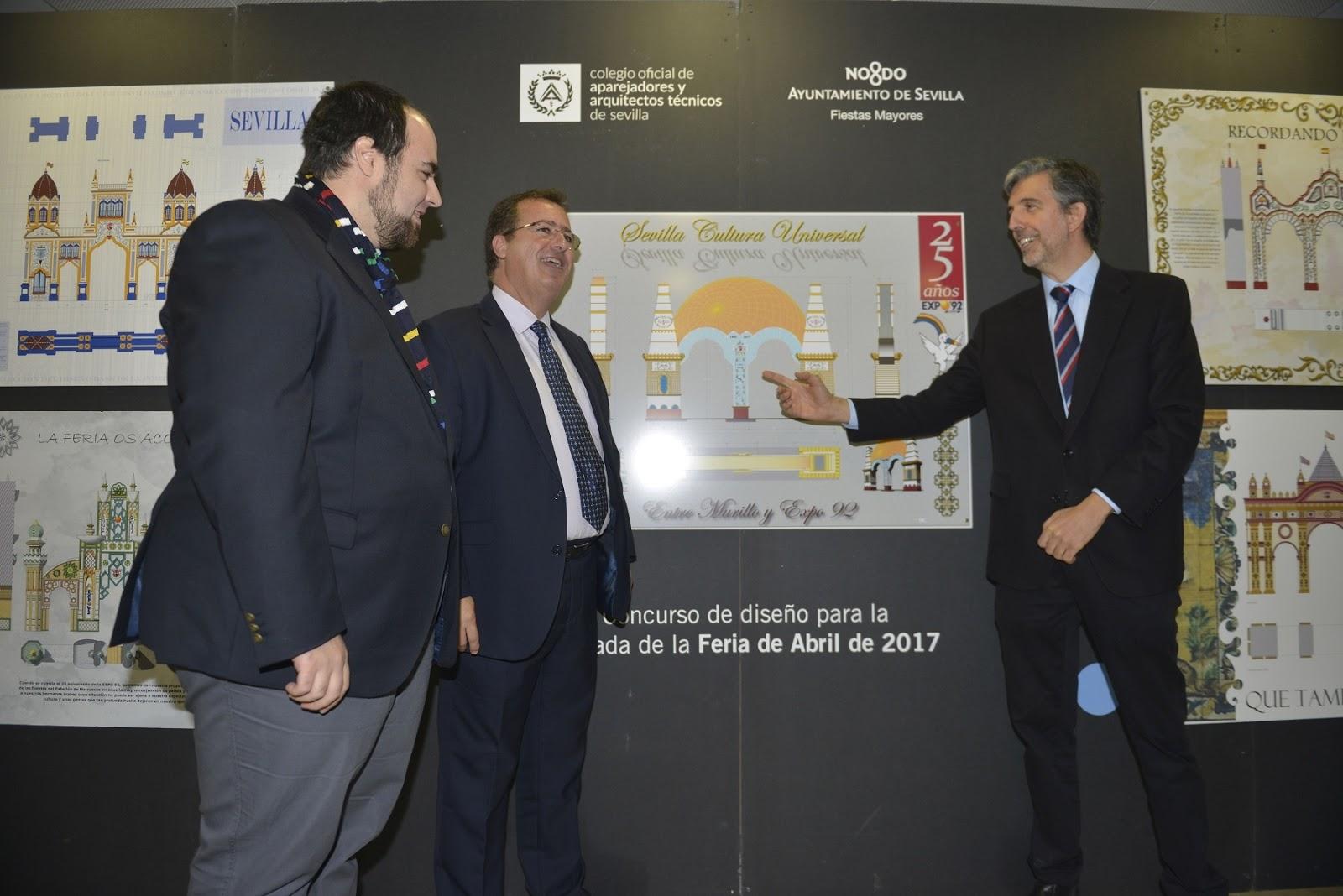 Gel n noticias inaugurada una exposici n sobre los - Colegio de arquitectos sevilla ...