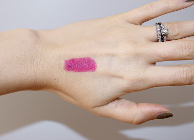 Teeez Material Girl Lipstick in Deceiving Desire Swatch