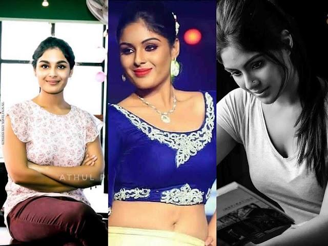 Samyuktha Menon Hot Navel Photos   Theevandi Actress