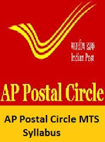 AP Postal Circle MTS Syllabus
