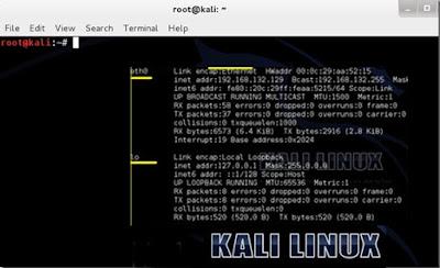 Perintah Dasar Kali Linux