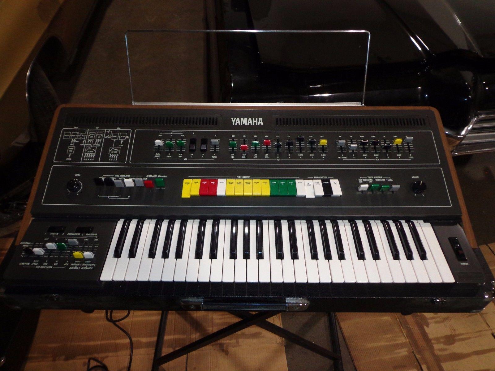Matrixsynth vintage yamaha cs 50 synthesizer keyboard for Yamaha keyboard synthesizer