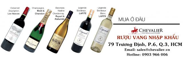 Nghệ thuật kết đôi cho rượu vang