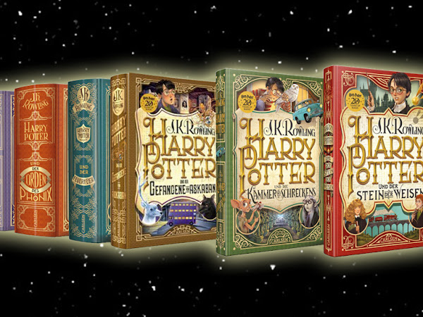 20 YEARS OF MAGIC - Die neuen Cover der Harry Potter-Bände