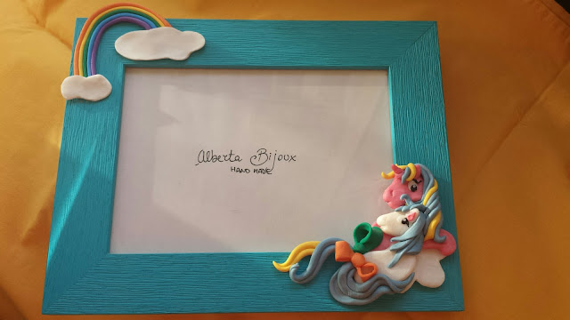 cornice fumo arcobaleno mini pony