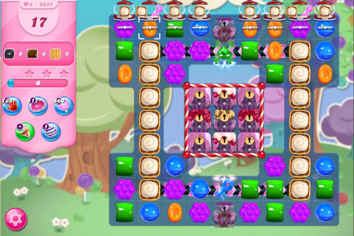 Candy Crush Saga level 5547