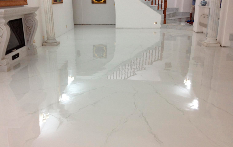 Gena design resina per pavimenti e rivestimenti - Pavimenti in resina per interni costi ...
