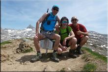 Arlas mendiaren gailurra 2.043 m. -- 2017ko maiatzaren 27an