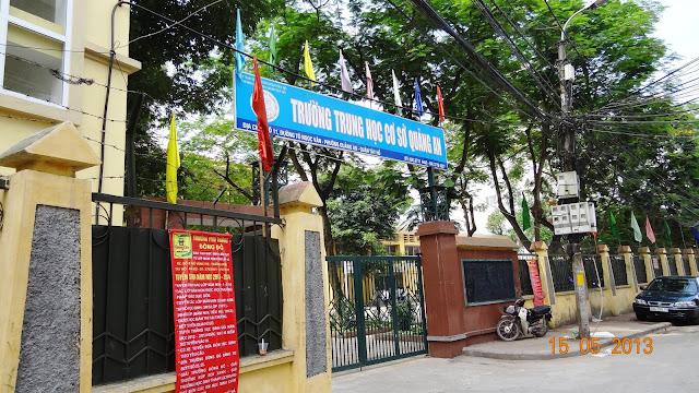 Trường THCS Quảng An.