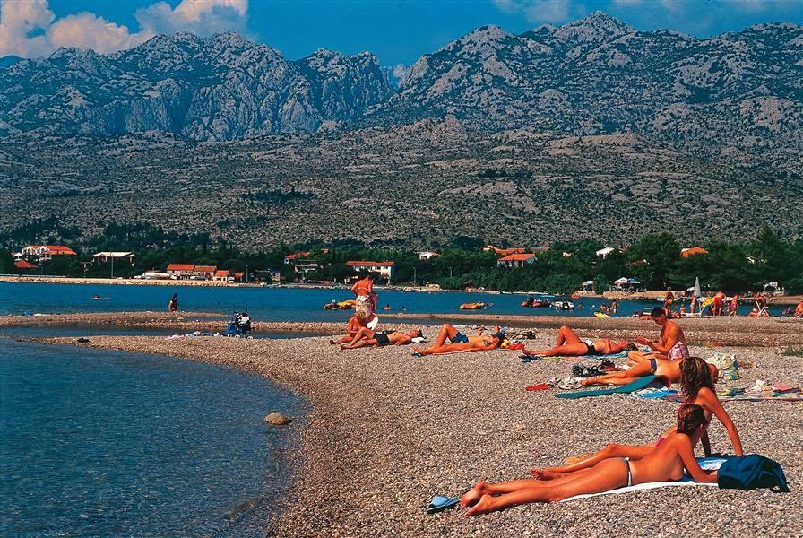 Nudist Camp Beach, The Island of Hvar Croatia