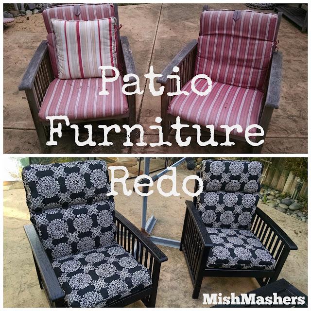 MishMashers: Patio Furniture Redo