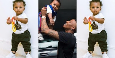 Wizkid gushes over his Son, Zion Balogun