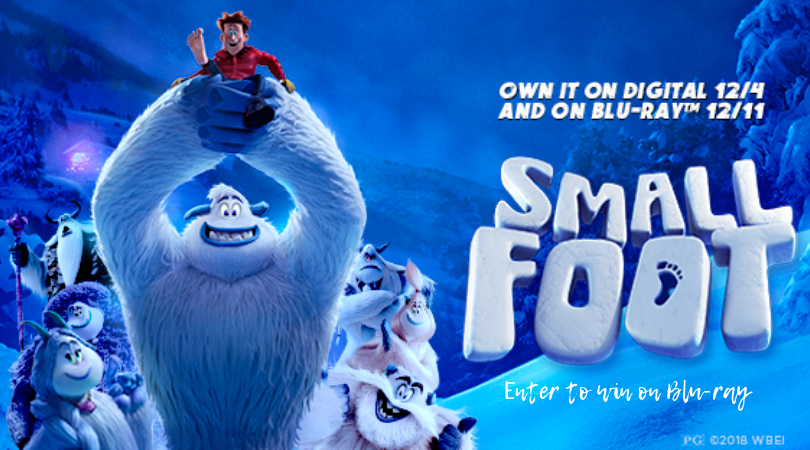 Are You Yeti for it? SMALLFOOT Coming Home in Time for the Holidays! Enter to Win Bluray/DVD!