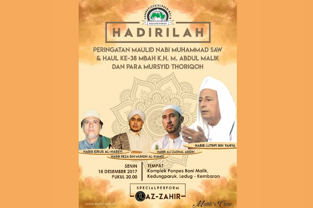 Pengajian Habib luthfi Purwokerto