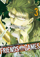 Friends Games, Soleil Manga, Manga, Critique Manga, Mikoto Yamaguchi, Yuki Sato,
