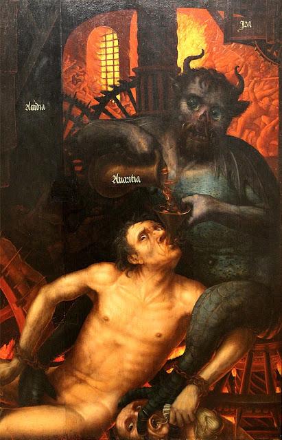 Jehan Bellegambe - trittico del Giudizio Universale