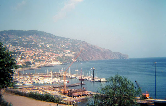 old photo: a view from Santa Catarina park