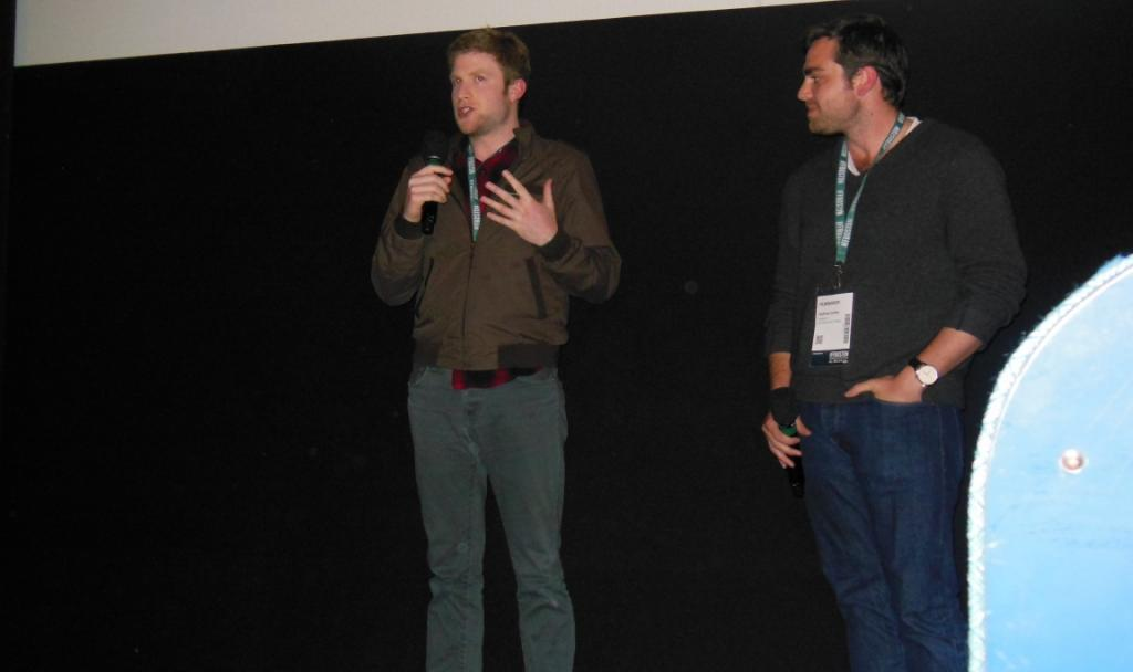 BIG SIGNIFICANT THINGS director Bryan Reisberg & producer Andrew Corkin