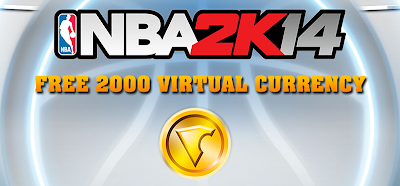 Free VC NBA 2K14 Locker Code (PS4/Xbox One)