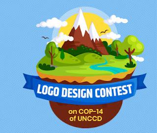Ideas For COP 14 Of UNCCD Logo designing contest