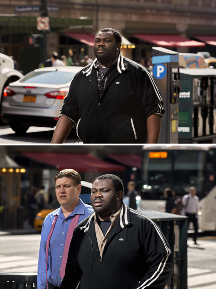 A Photographer Spent 9 Years Capturing The Same People On Their Way To Work To Show How They Change Over Time