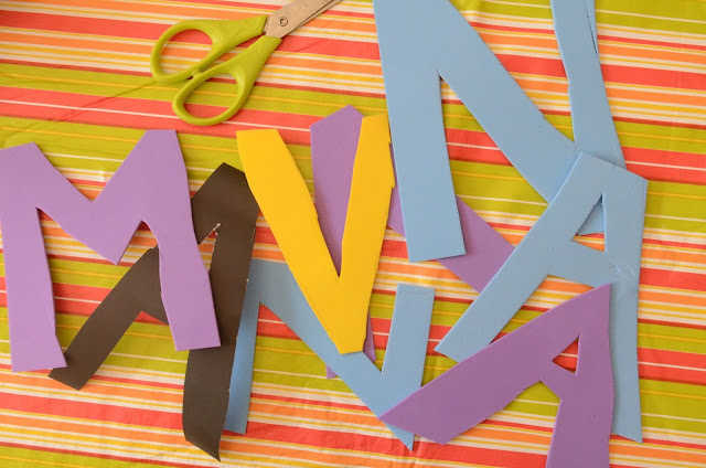 Name Structure: Preschooler Art by Practical Mom