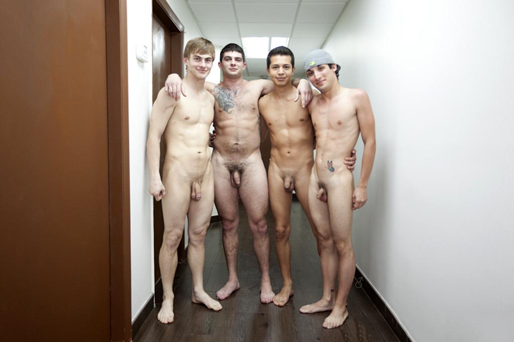 Essence. Naked men groups