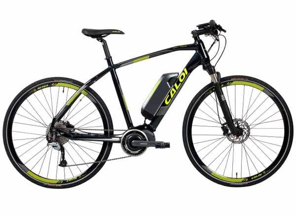 Desde Brasil, bicicletas eléctricas Caloi: E-ViBe Tour y Elite