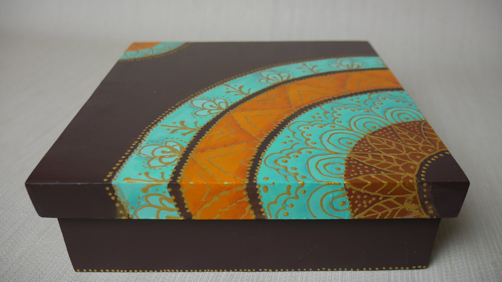 Caja con Mandala ~ Disfruta Creando