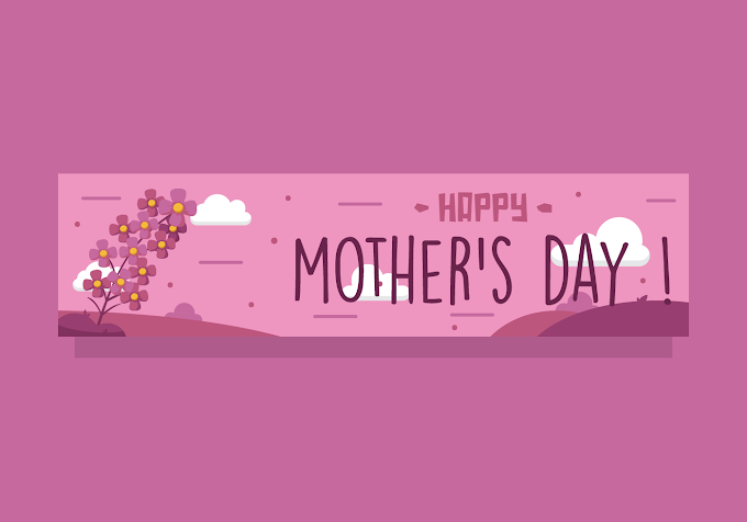 Mothers Day Banner Free Vector