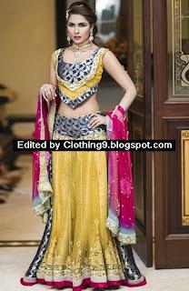 Amna Ajmal New Bridal & Groom Collection