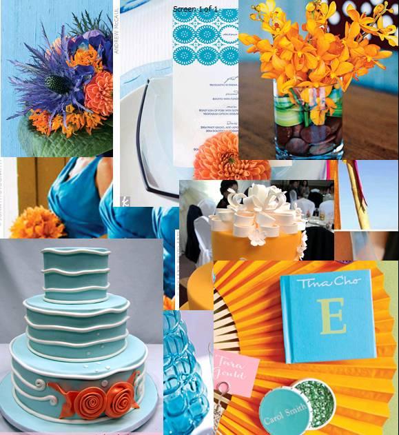 Gotcha Covered: Orange Weddings