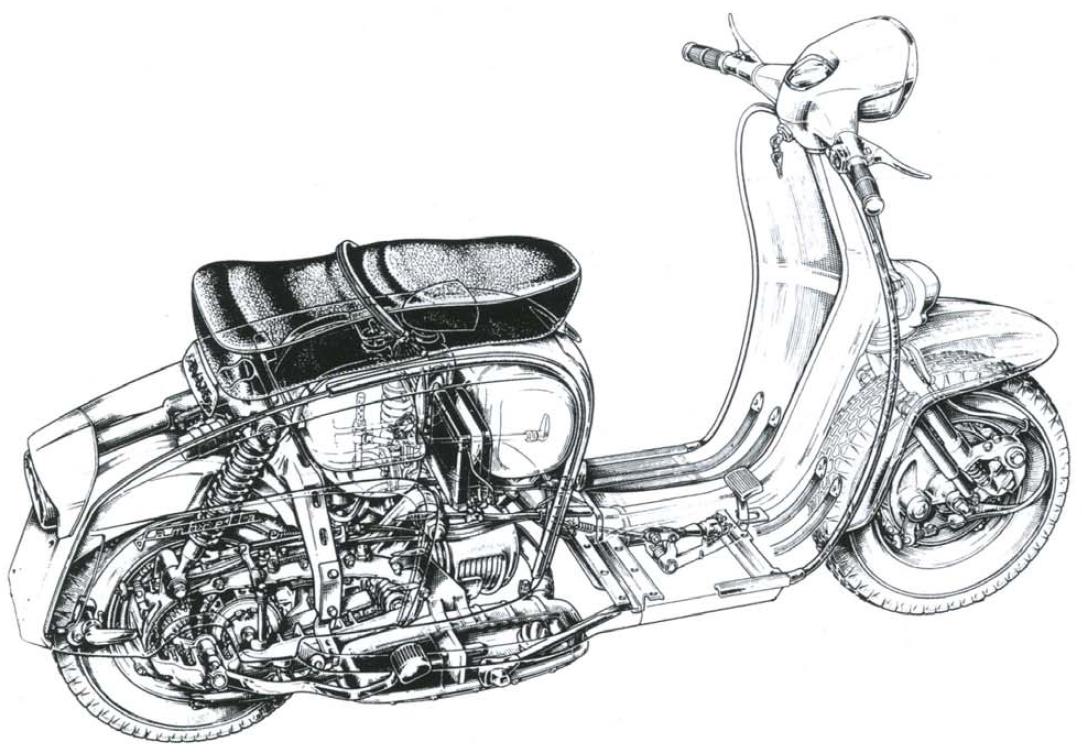 Analisis de Maquinas: Lambretta 150 Li serie 2 (1960)