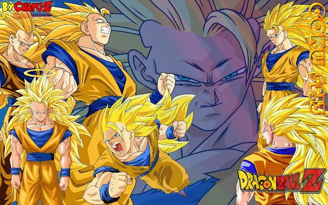 Tóc của Goku mọc dài đến tận chân, không còn lông mày. Ở cấp độ này, tốc  độ, sức mạnh tăng lên rất nhiều (Gấp 3 lần SSJ2 và gấp 4 lần ...