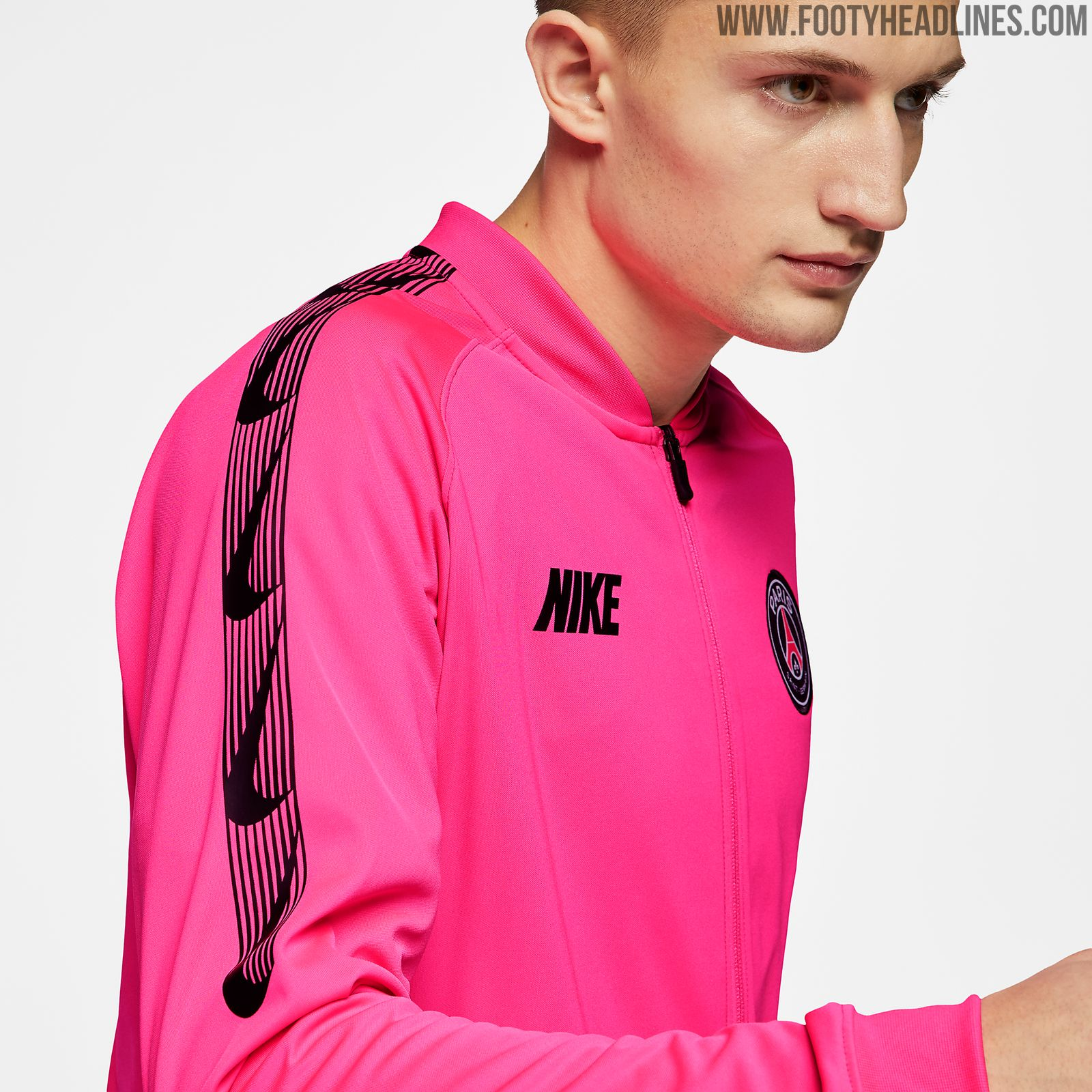 c79fc974349944 New Nike Style  Pink PSG 2019 Training Kit Released - Footy Headlines