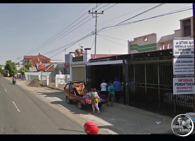 Kampung Haramay, Desa Neglasari, Kecamatan Pagaden atau Jl. Raya Subang Pamanukan.