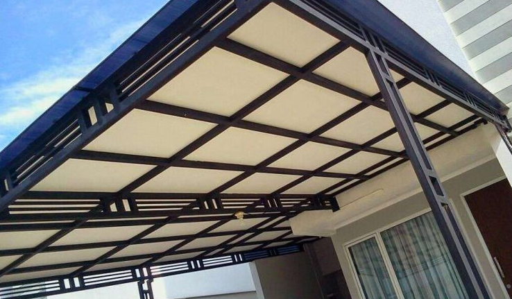 kanopi baja galvanis 10 model ringan untuk garasi rumah inspirasi terbaik