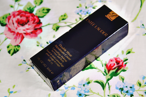 estee lauder double wear maximum cover camouflage make up review