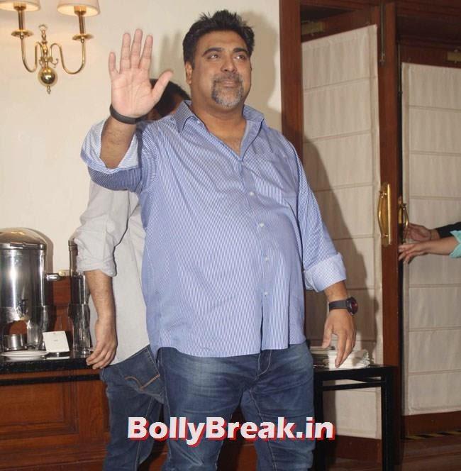 Ram Kapoor, Esha Gupta, Tamanna Promote Humshakals in New delhi