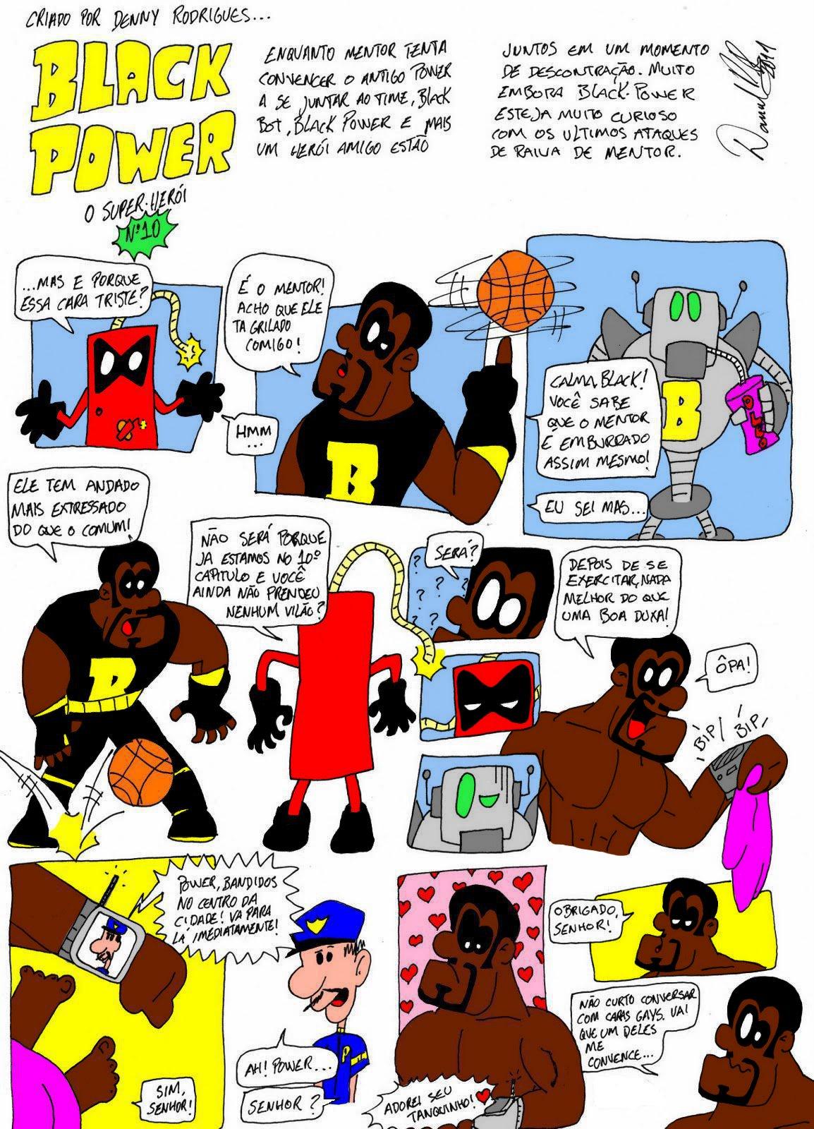 3aedb6023 BLACK POWER - O Super Herói  Black Power Nº10 (clique para ampliar)