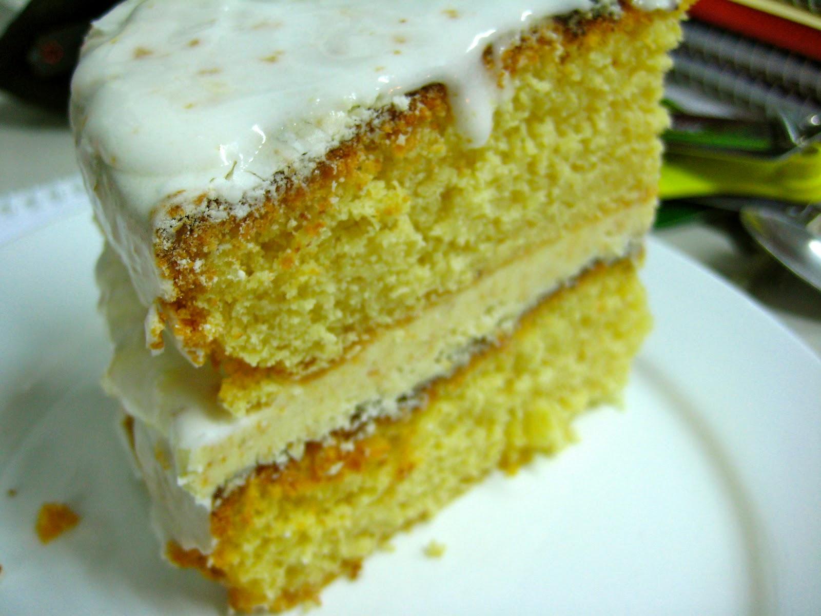 Nigella Gluten Free Rhubarb Cake