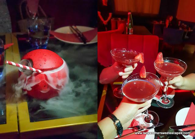 drinks in Maison Rouge Dubai