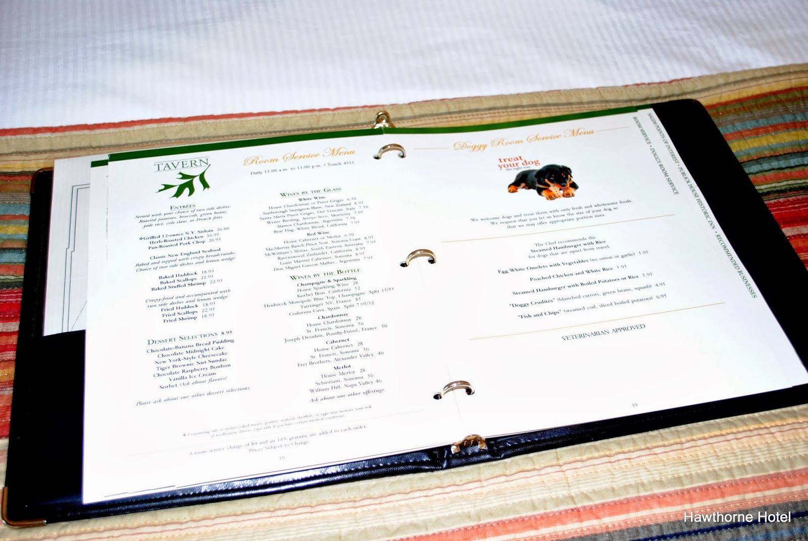 More unusual is the fact that we have two copies of this directory available in braille for our guests who might need that format