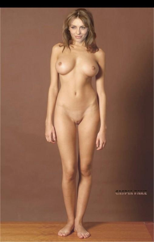 elizabeth hurley boobs