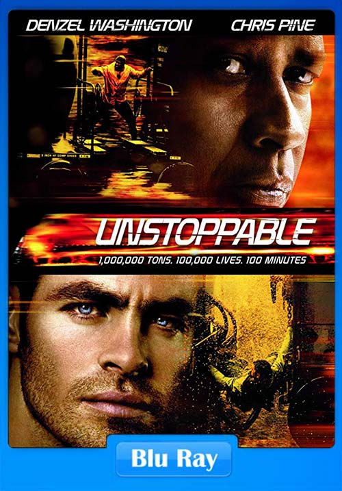 Unstoppable 2010 Hindi BluRay 720p Dual Audio | 480p 300MB | 100MB HEVC