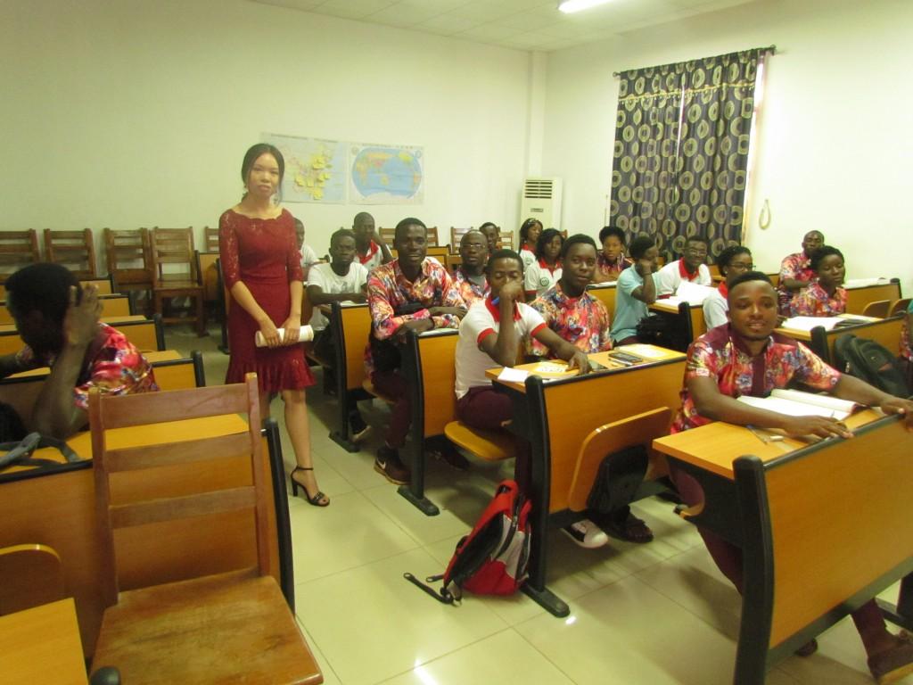 Togo : La rentrée académique 2018-2019 effective à l'Institut Confucius de l'Université de Lomé