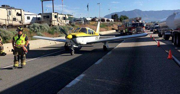 У США літак здійснив аварійну посадку на автостраду