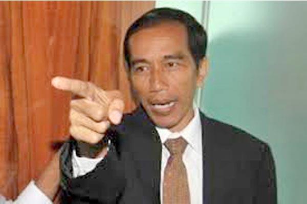 Jokowi :  Kita blak-blakan Saja, Kalau Saya Buka Satu Persatu Nanti Ramai