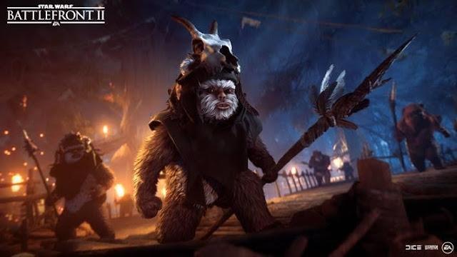 Cae la Noche en Endor en Star Wars Battlefront II